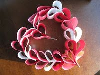 Valentine Paper Heart - it looks so easy I can do it. I think..