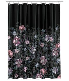 Floral HM Shower Curtain
