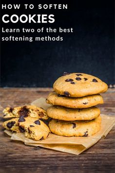 Planning to soften a batch of cookies? This CookingChew guide to softening cookies is a complete revelation - from tips on storing them to this well-guarded secret you're about to uncover now. Frozen Cookies, Cake Mix Cookies, No Bake Cookies, Yummy Cookies, Chip Cookies, Microwave Cookies, Vegetarian Cookies, Almond Joy Cookies