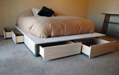Za mało miejsca w domu? Wykorzystaj przestrzeń pod łóżkiem