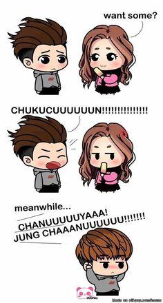 b.i-Chanwoo and chuku story <3 ^^ iKON