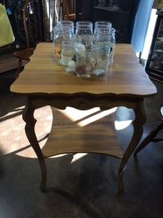 This Beautifully Shaped Accent Table Is Large Enough For A Lamp, Several  Frames And A