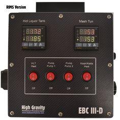 EBC III-D Electric Brewery Controller