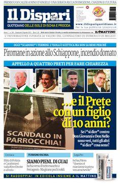 La copertina del 09 agosto 2015 #ischia #ildispari