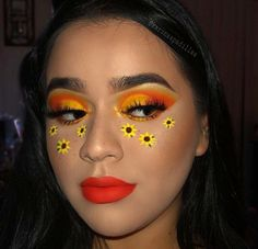 hippie makeup 708965166318703127 - Source by pearlandlove Cute Makeup Looks, Makeup Eye Looks, Crazy Makeup, Pretty Makeup, Flower Makeup, Fairy Makeup, Mermaid Makeup, Makeup Art, Bee Makeup