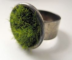 GROW RING A fun ring where you can grow your own little plants. :) via O B J E C T I F I E D
