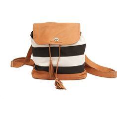 SABRINA TACH Belar Backpack & Shoulder Bag ($175) ❤ liked on Polyvore