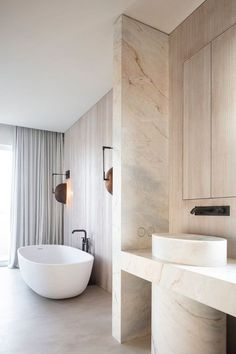Modern Bathroom Design, Bathroom Interior Design, Modern Interior Design, Home Design, Bathroom Designs, Design Design, Design Trends, Minimal Bathroom, Design Ideas