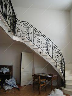 Metal Stair Railing, Grill Design, Stair Storage, Staircase Design, Bedroom Bed, My Dream Home, Beautiful Homes, Windows, Doors