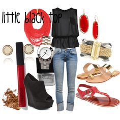 the little black top-outfit 3