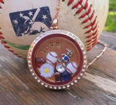 Baseball and Origami Owl...what a great combo!!
