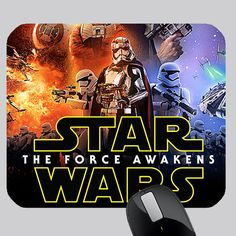 awesome THE FORCE AWAKENS STAR WARS PHOTO MOUSE PAD