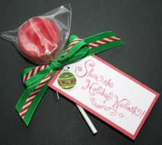 Tealight Candle Lollipop! Great teacher gift, holiday gift, co-worker gift, stocking stuffers, and much more! www.partylite.biz/jenswaxscents