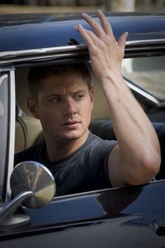 I seriously don't know who is sexier, Jensen Ackles or his car on Supernatural. I want a ride in that damn car...with him in it.