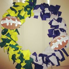 Football wreath!