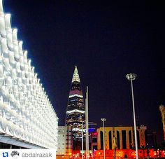 King Fahd National Library & Faisaliah Tower | Riyadh Riyadh, Good Old, Opera House, Tower, King, Building, Rook, Computer Case, Buildings