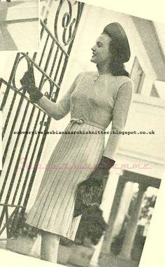 The Vintage Pattern Files: Subversive Femme