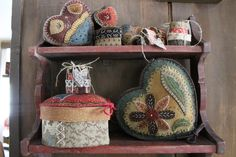 Selection of Heart Wooly Boxes www.rebekahlsmith.com