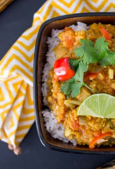 Nepalese lentil curry