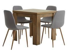 Shop dining table and chair sets in various designs, materials and sizes to suit your home. Dining Set, Dining Chairs, Garden Furniture, Outdoor Furniture, House Of Beauty, Buy Furniture Online, Grey Oak, Indoor, Home Decor