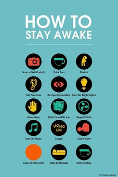 Buy Merchandise Online Shopping India | Shop Posters, Art Prints, IPhone Cases | Stay Awake Manifesto | Blue | PosterGully