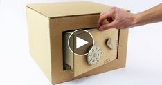 This project will teach you how a combination lock works and enables you to make your cardboard safe.