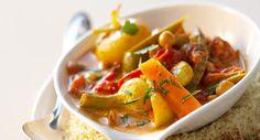 Couscous de l�gumes au curryVoir la recette du couscous de l�gumes au curry