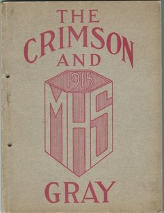 1915 Medina High School Yearbook