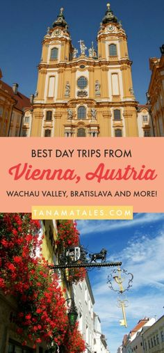 Travel tips and ideas for #Vienna, #Austria - Are you looking for some exciting day trips from Vienna? Excellent! You have arrived to the right place. My guide will show you several beautiful places that can be reached fro Vienna in 1 to 3 hours.