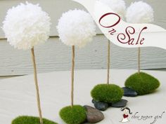 One Dandelion Rustic Wedding Centerpiece Woodland by theepapergirl, $12.00