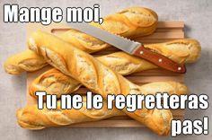 Mange moi, Tu ne le regretteras pas! (courtesy of @Pinstamatic http://pinstamatic.com)
