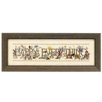 Every Day is Happy Counted Cross Stitch Kit