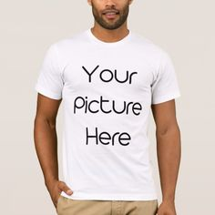 Customized Men Basic American Apparel T-Shirt