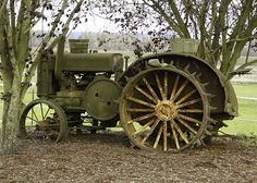 Tractor Display by swainboat, via Flickr