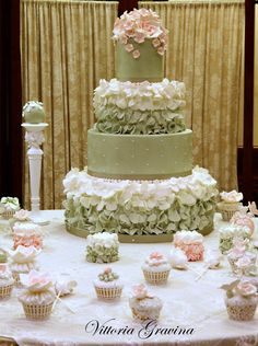 40 anni dessert table e torta___