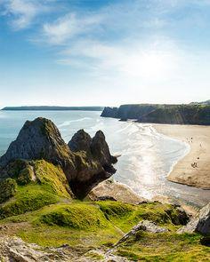 Hidden beaches, adventure sports, glamping and world class coastal walks await you. Camping Set Up, Pembrokeshire Coast, Brecon Beacons, Hidden Beach, Adventure Activities, Stargazing, Brisbane, Trip Planning, Great Places