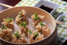 Olives for Dinner | Recipes for the Ethical Vegan: Lemongrass and Cilantro Shumai