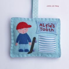 Tooth Fairy Hanging Pillow Little Lili May