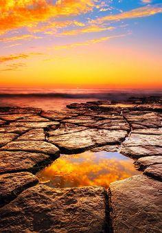 The Eye of Mordor, Sunset Cliffs Natural Park, San Diego, California http://papasteves.com/