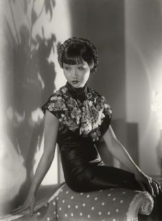 Anna May Wong by Paul Tanqueray half-plate glass negative, 1933 NPG x180258