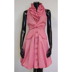 Samuel Dong Pink Ruffle Dress Only worn once!! Retails for $170 Samuel Dong Dresses