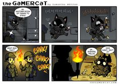 Check out the comic the GaMERCaT :: Smooth Criminal