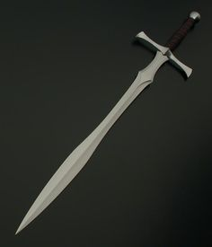 Leafblade Broadsword this was the most lethal sword and was the sharpest of them all.