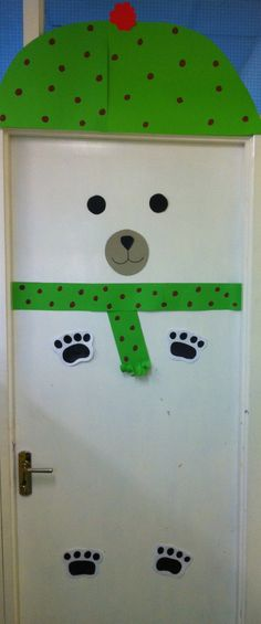 My polar bear classroom door