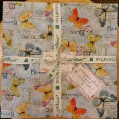 "Rainbow Seeds by Lisa Audit for Wilmington Prints - Each package contains 42 - 10"" squares of fabric..."