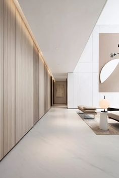 """""""How to attach a modern accent wall. ] - Discover more interior design and home decor inspiration on www. Interior Design Minimalist, Office Interior Design, Minimalist Home, Contemporary Interior, Home Interior, Interior Architecture, Modern Design, Color Interior, Home And Deco"""