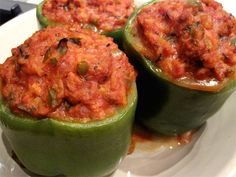 I haven't had stuffed bell peppers since I was a little girl. These sound just like Mother made. Going to have to try these this weekend!