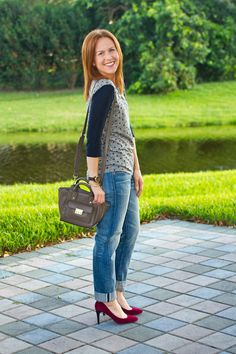 tee + jeans + statem