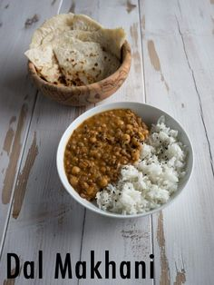 #vegan Dal Makhani - indian dish with creamy  lentils