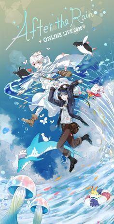 Vocaloid, Pusheen Love, Anime Family, Cute Anime Boy, I Love Reading, Computer Wallpaper, Anime Artwork, Aesthetic Anime, Album